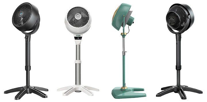 Cum alegi un ventilator de camera: o briza de aer in zilele toride