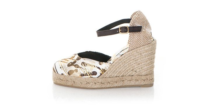 Sandale tip espadrile Desigual