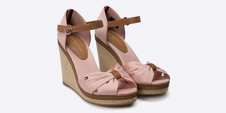 Sandale textil Tommy Hilfiger
