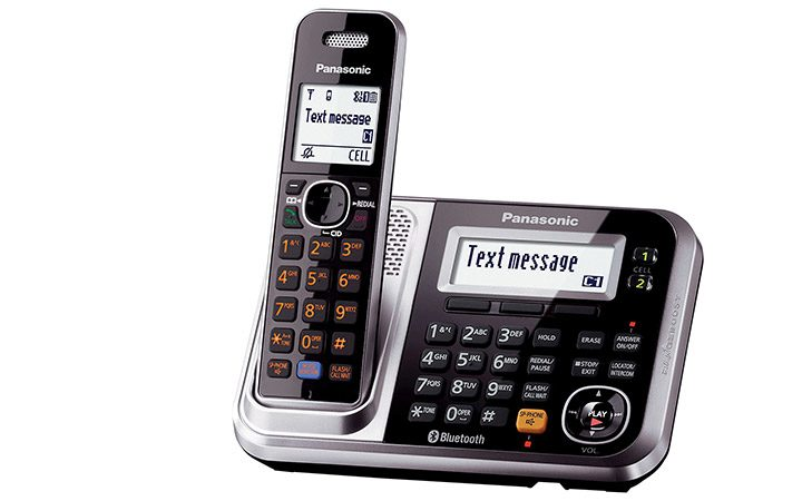 telefon dect fara fir cu suport SMS