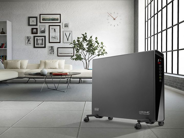 convector electric cu panou digital