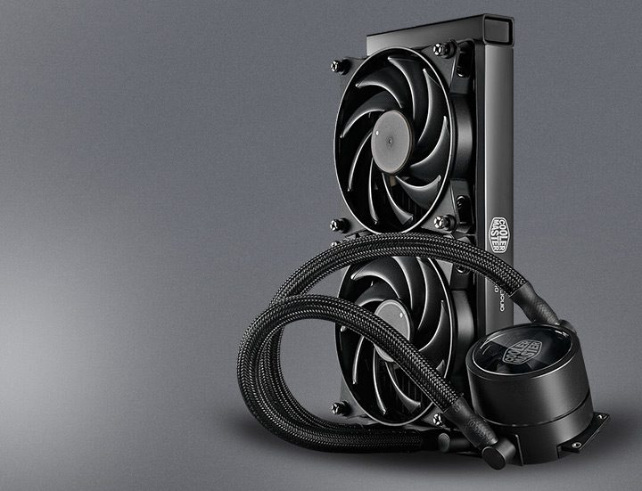 cooler cu apa closed loop cooler master