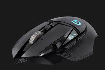 mouse de gaming cu fir logitech