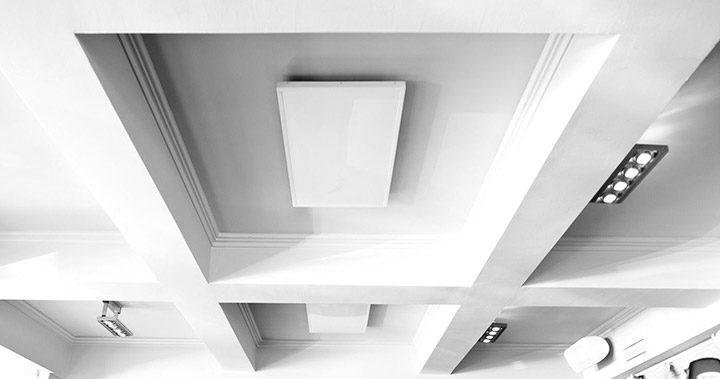 panouri radiante de tavan