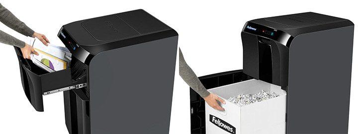 shredder cu alimentator automat de documente