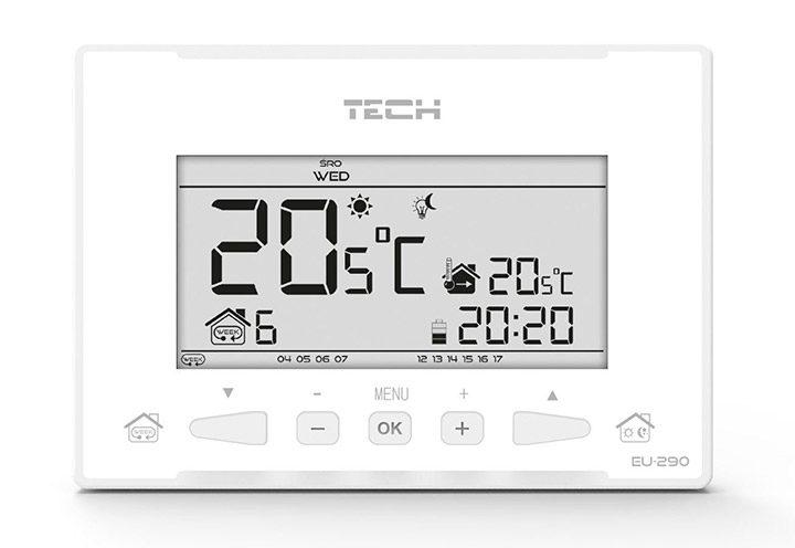 termostat ambiental cu display LCD