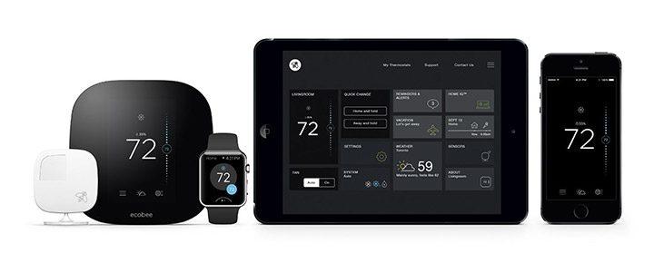 termostate ambientale integrate cu sisteme inteligente