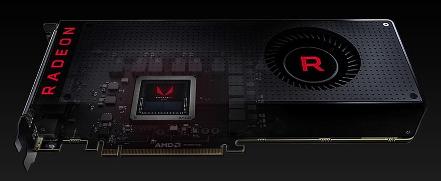 placa video amd radeon