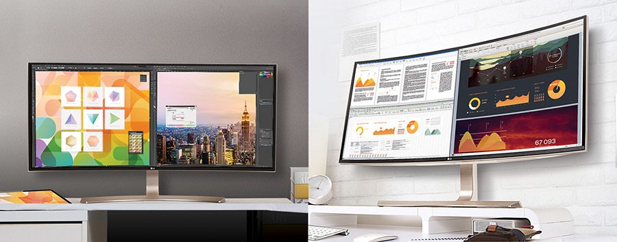 Monitor ultrawide 21:9 versus wide 16:9: care este cea mai buna alegere?