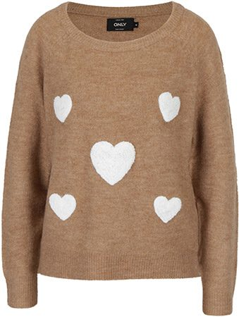 pulover cu inimioare