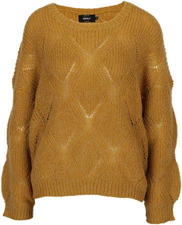 pulover mustar