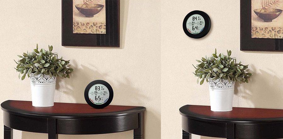 termometru de camera montare perete