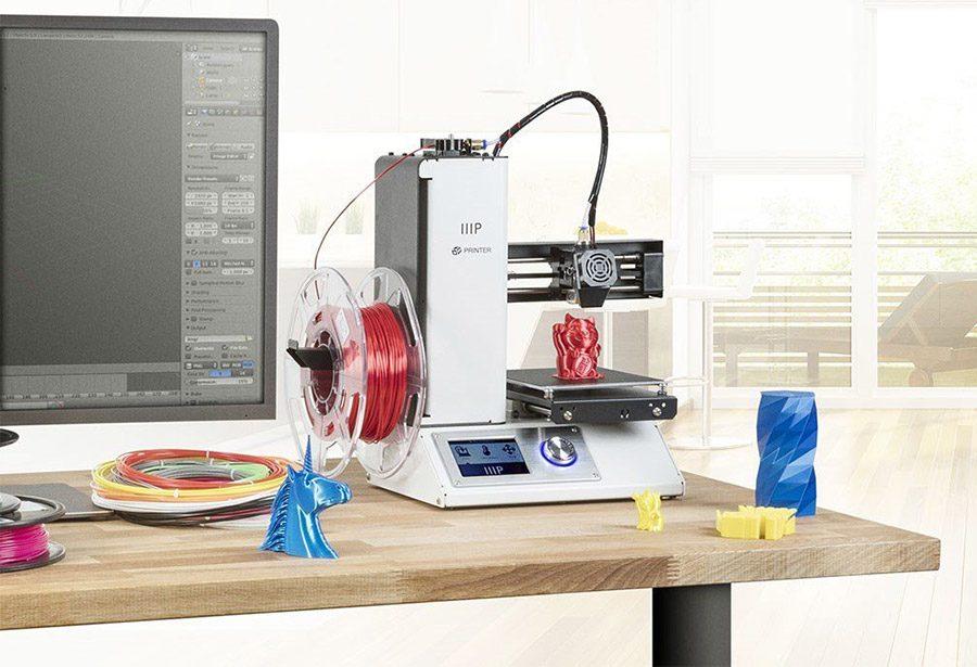 imprimanta 3d cu extruder FDM