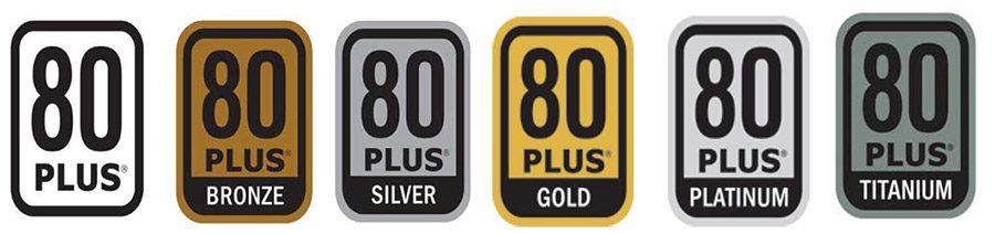 logo standard eficienta 80 plus