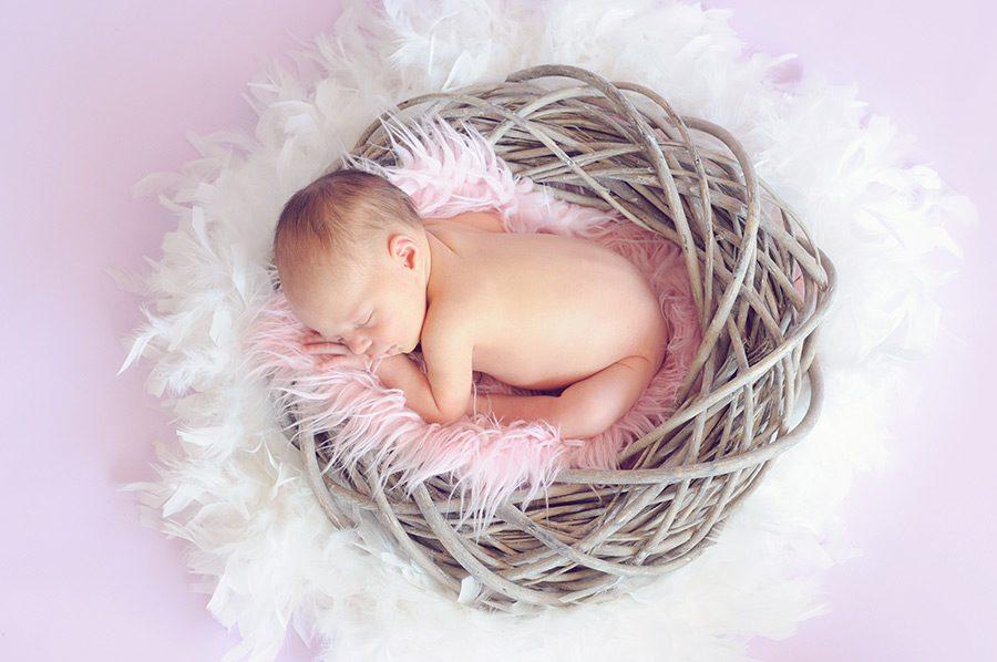 bebelus de cateva luni