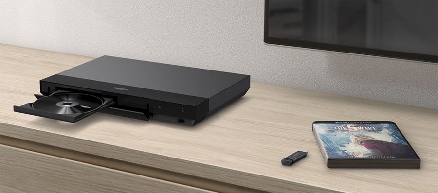 blu ray player filme 4k
