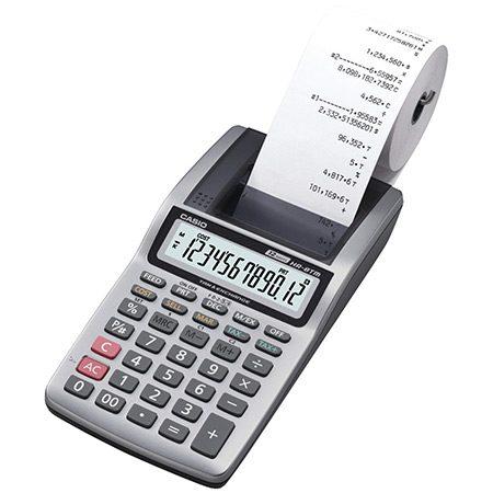 calculator de birou cu imprimare pe role de hartie