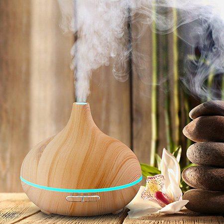 difuzor de aromaterapie cu abur