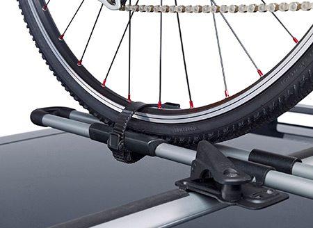 prindere roata bicicleta suport auto