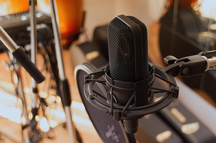 microfon de studio
