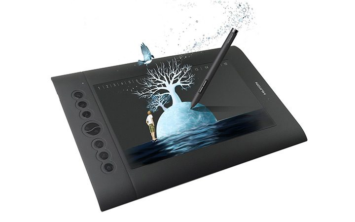 tableta grafica cu butoane