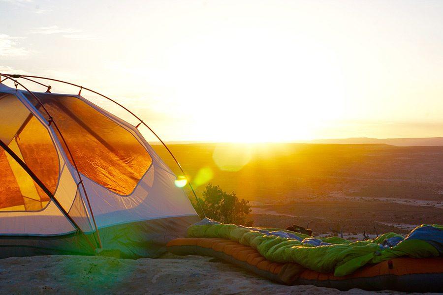 camping sac de dormit