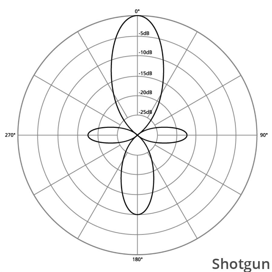directionalitate microfon shotgun