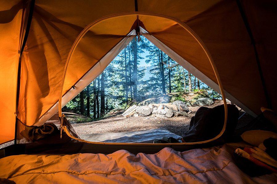 natura cu cortul