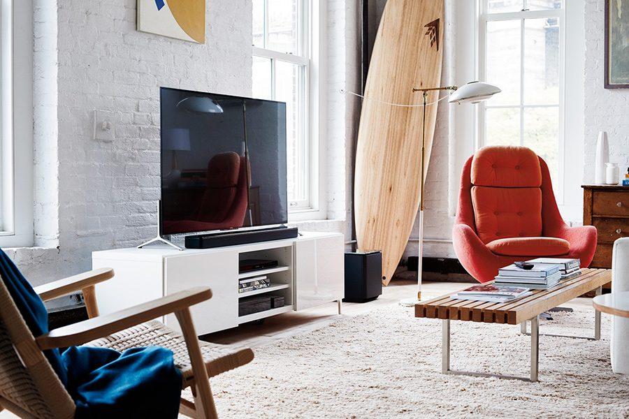 soundbar cu design modern