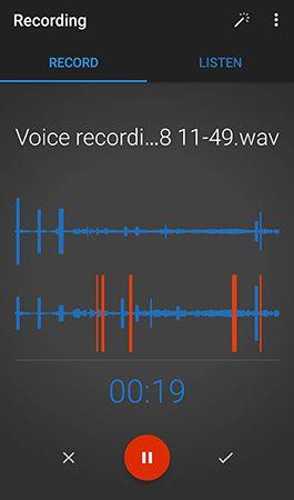inregistrare voce telefon mobil