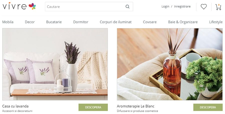 Vivre: magazinul de home deco care iti transforma casa