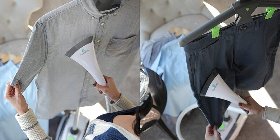 calcare verticala pantaloni camasa