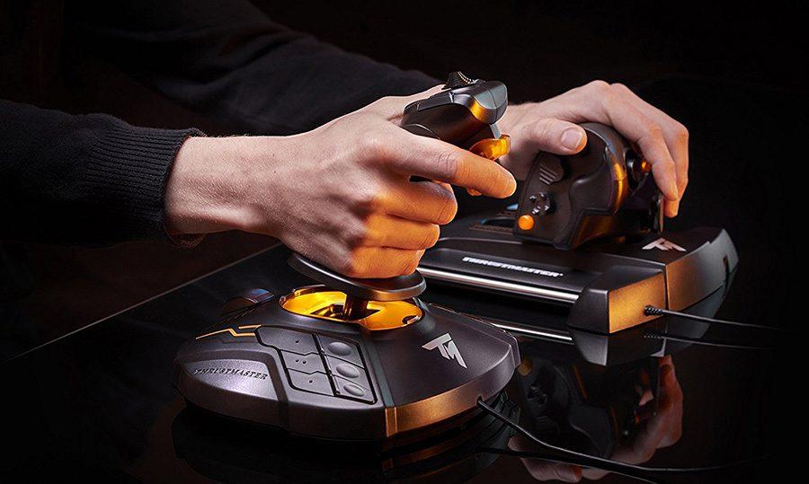 Cum alegi un joystick pentru simulatoare de zbor: tipuri si caracteristici