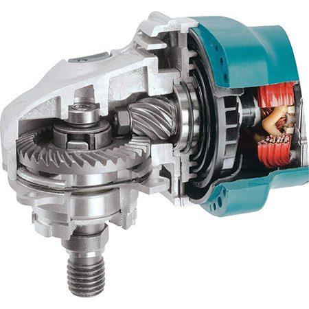 motor polizor unghiular