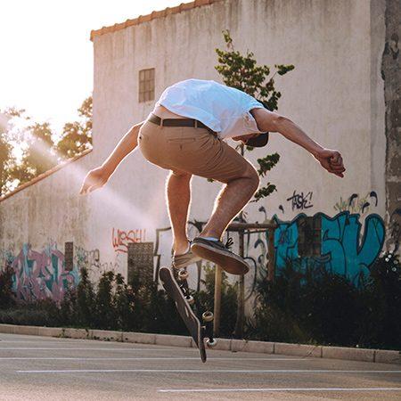acrobatie skateboard
