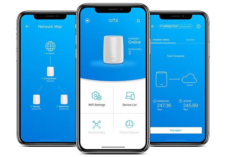 configurare retea wifi mesh aplicatie mobil