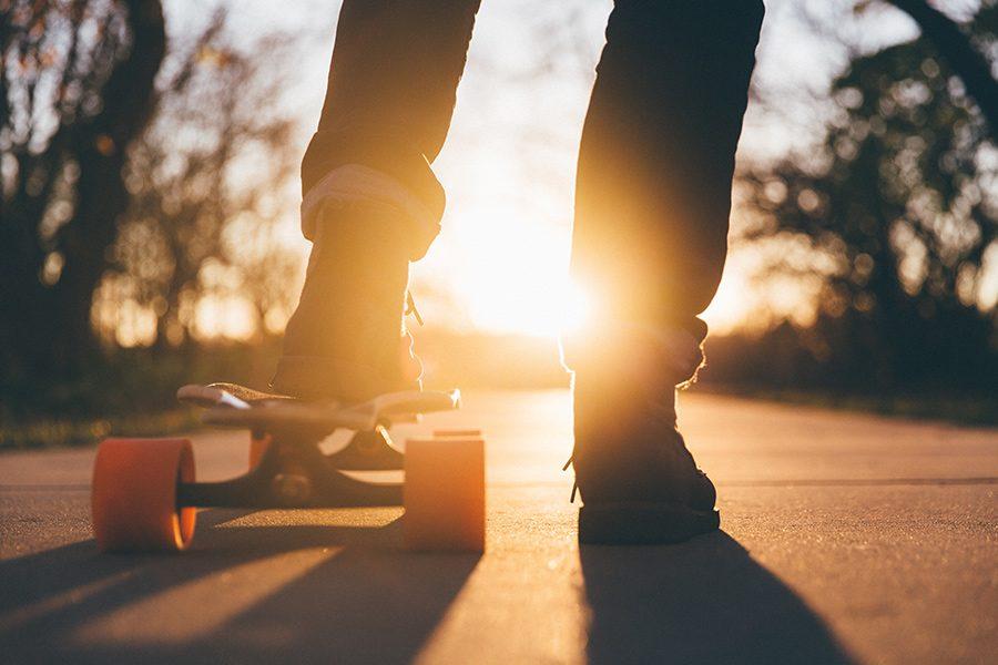 roti skateboard