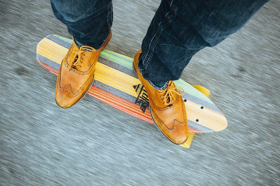 viteza skateboard