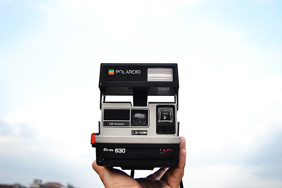 camera foto instant polaroid