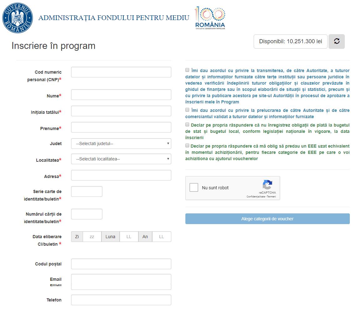 aplicatie online rabla pentru electrocasnice