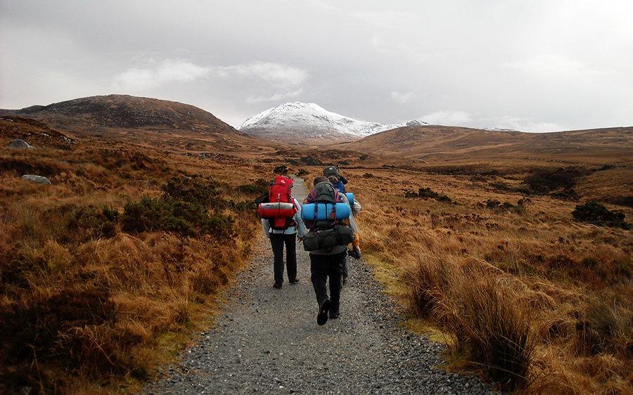 excursie in natura pe munte