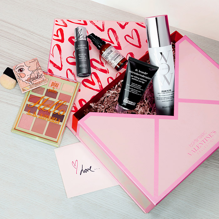 lookfantastic valentin's day beauty box