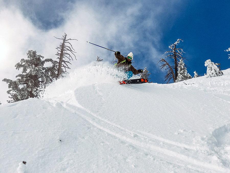 ski pe zapada afanata