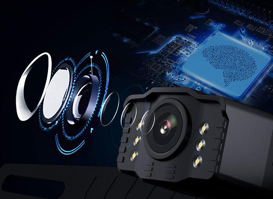 camera video senzor lentila