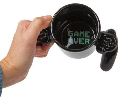 cana in forma de controller de gaming