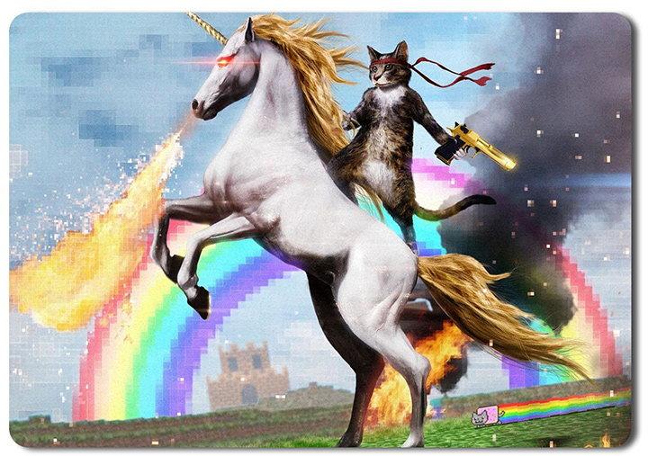 mousepad haios cu unicorn