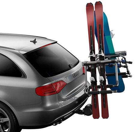 suport ski carlig de remorcare