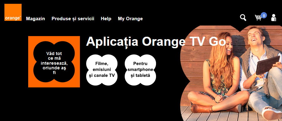 orange tv go
