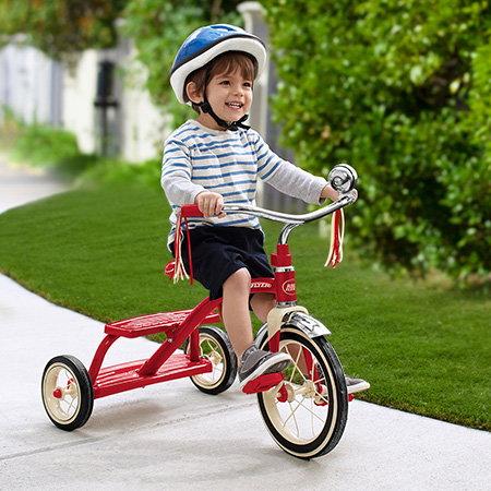 tricicleta cu claxon