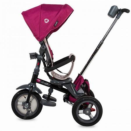 tricicleta cu scaun reversibil